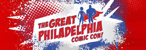 logo for The Great Philadelphia Comic Con