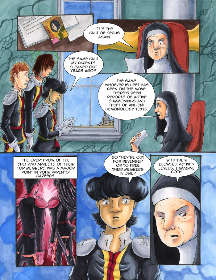 Vatican Assassins 2nd Reading Page 14