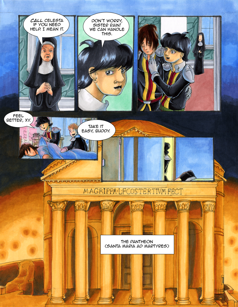 Vatican Assassins 2nd Reading Page 18
